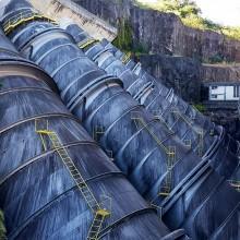 Inspeção em estruturas hidráulicas de usinas hidrelétricas para avaliação da presença de mexilhão-dourado