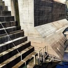 Inspeção em usinas hidrelétricas para avaliação da presença de mexilhão-dourado e de outras espécies incrustantes