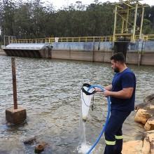 Filtragem de água em reservatórios de usinas hidrelétricas para avaliação quantitativa do mexilhão-dourado