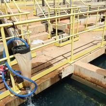Filtragem de água em Estação de Tratamento de Água para avaliação quantitativa do mexilhão-dourado