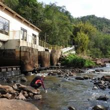 Amostragem de água em usinas hidrelétricas para avaliação molecular da presença do mexilhão-dourado