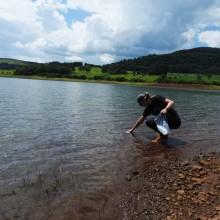 Amostragem de água em reservatórios de usinas hidrelétricas para avaliação molecular da presença do mexilhão-dourado